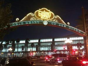 Gaslamp entry in San Diego