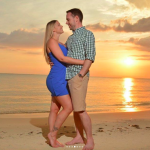 Engagement photo in Jamaica