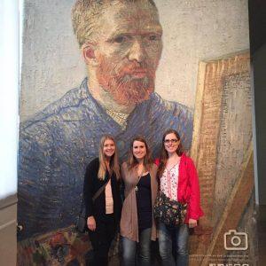 Van Gogh Museum selfie station