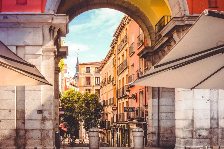 Streets in Madrid