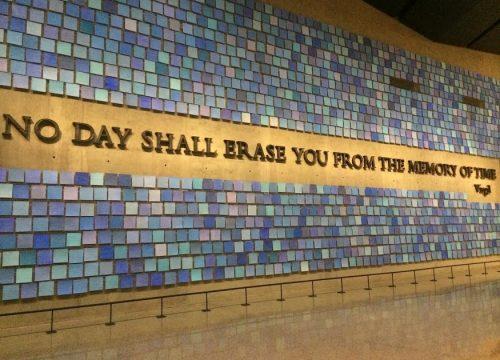 Mural in the 9/11 Memorial