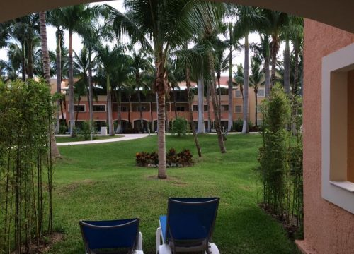View from our room at Barcelo