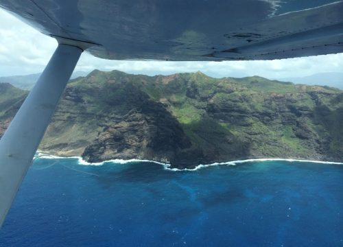 Kauai from above