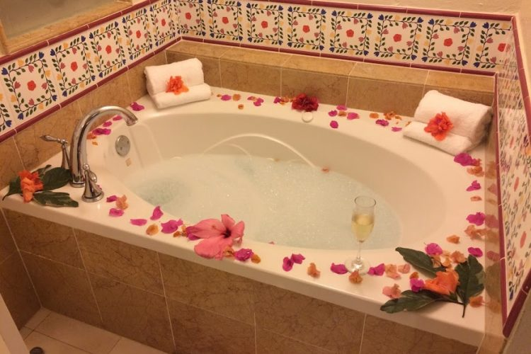 Bathtub in Sandals suite
