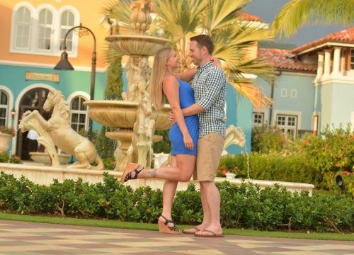 Couple at Sandals