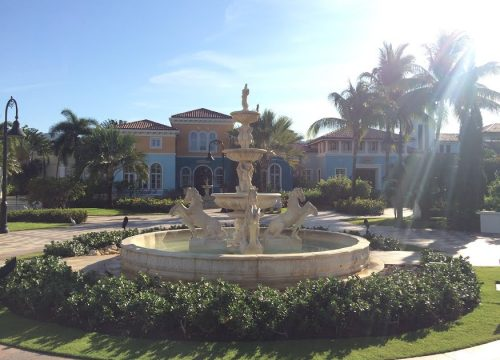Sandals South Coast fountain