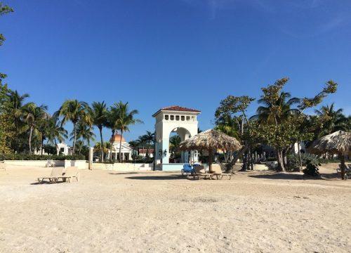 Sandals South Coast beach