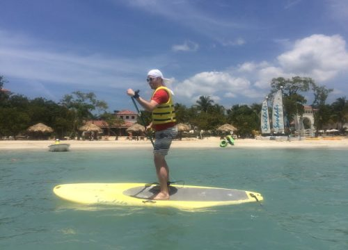 SUP at Sandals South Coast
