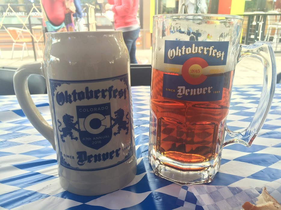 Marzen beer at Denver Oktoberfest