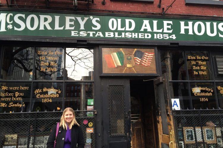 McSorley's pub New York City