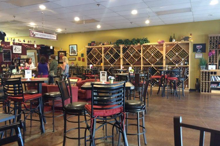 water 2 wine tasting room