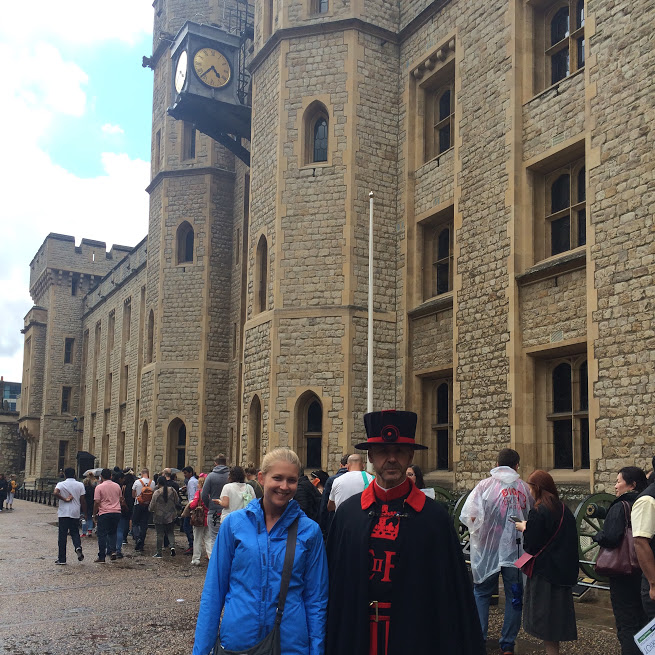 At the London Tower