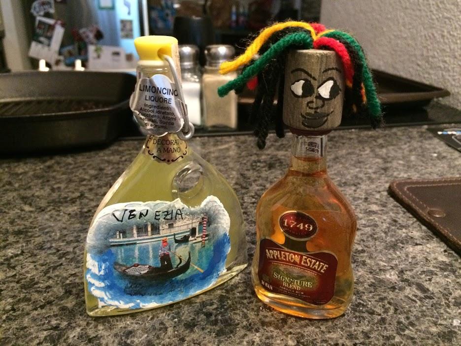 Travel liquors