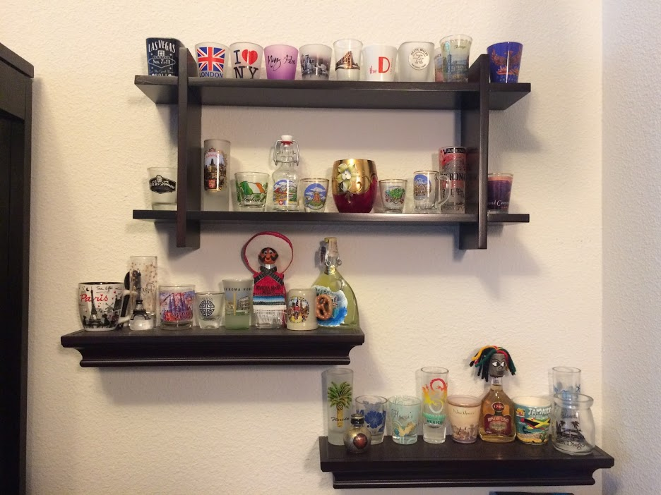 shot glass collection