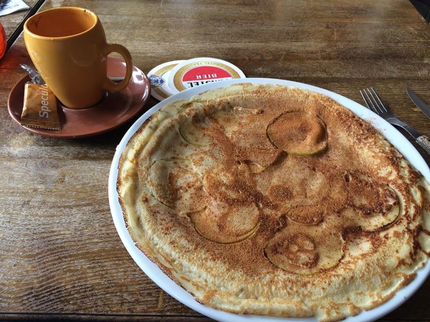 Pancake in Amsterdam