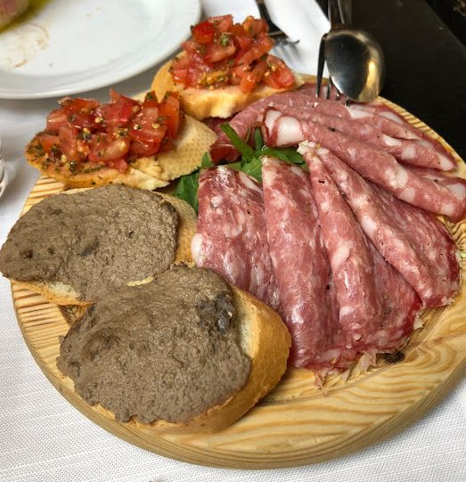 Antipasto in Florence