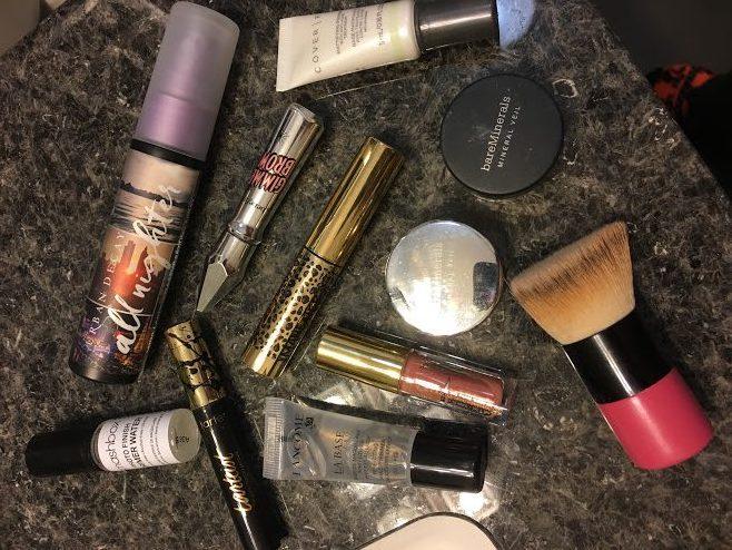 Travel size makeup