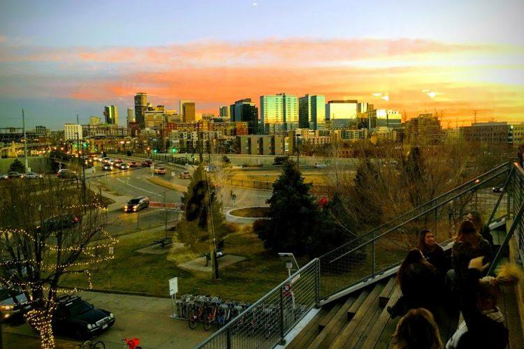 Denver at sunset