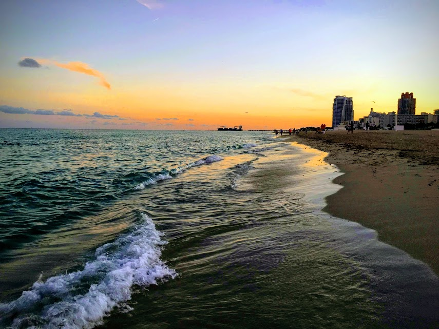 Miami Beach sunset