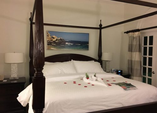 Bed at Sandals