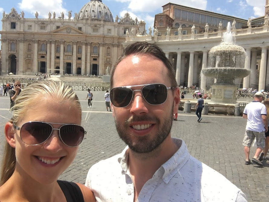 Couple at the Vatican