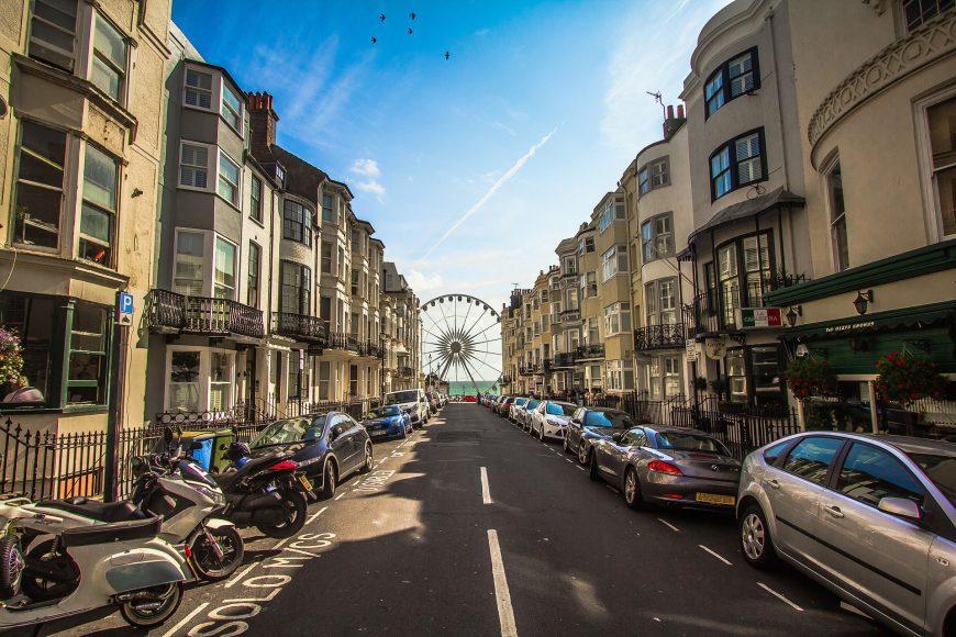 Brighton city view