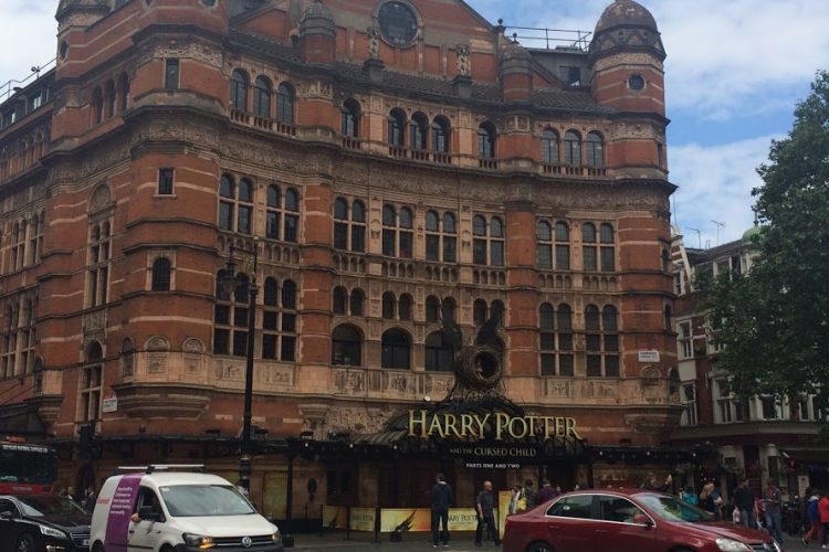 Harry Potter sign in London