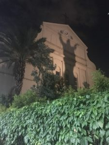 A ghost in Jackson Square