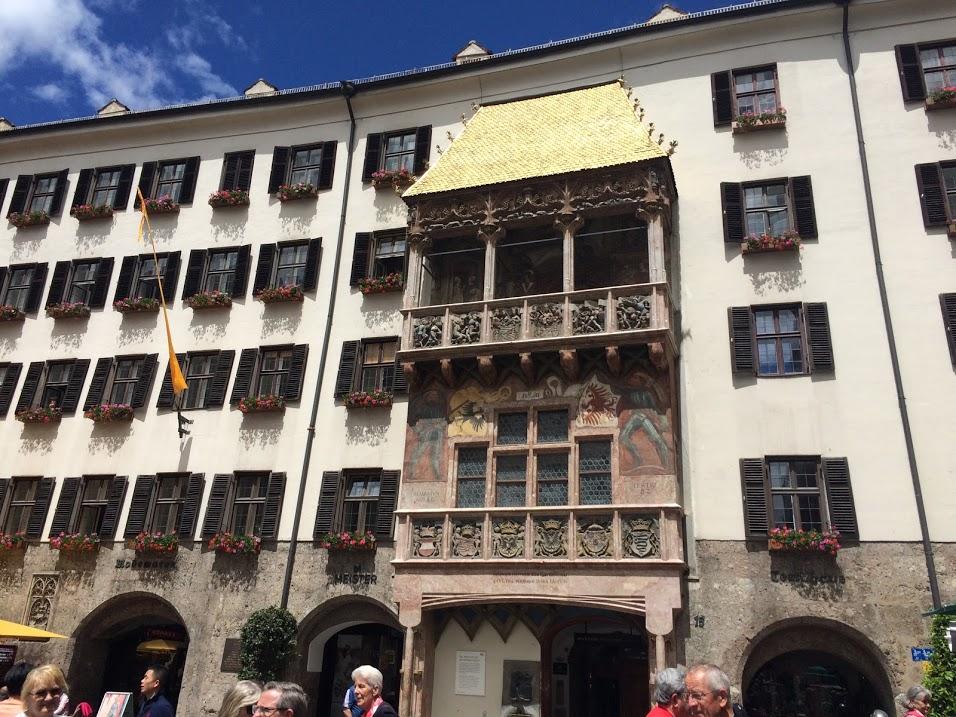 Gold Roof in Innsbruck