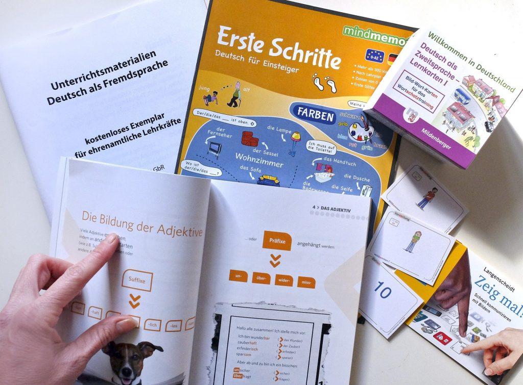 German language learning tools