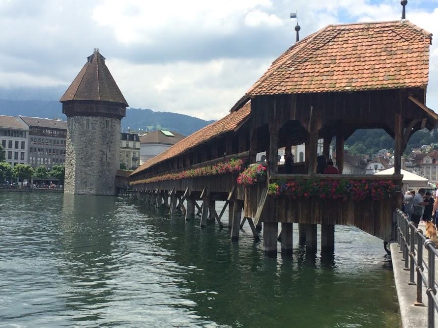 Kappellbrucke bridge
