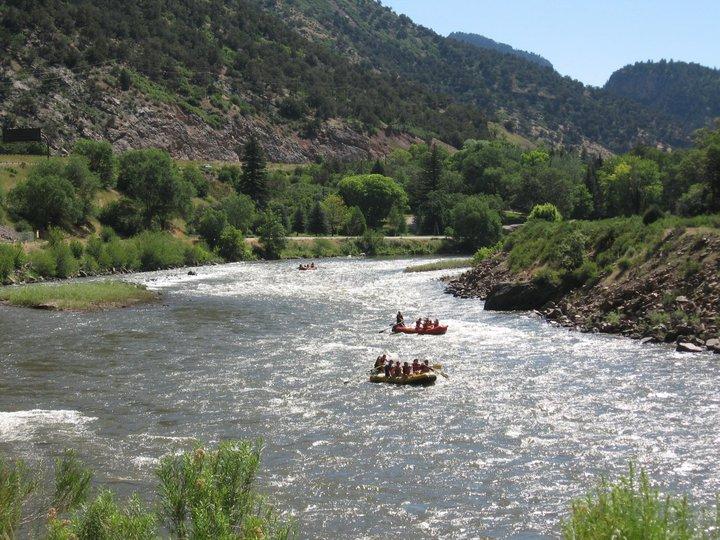 Glenwood Springs whitewater rafting