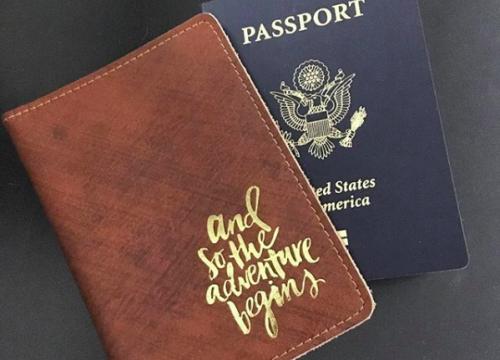 Passport and case