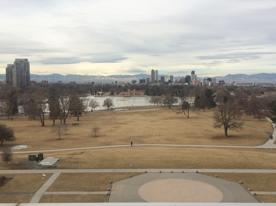 City Park from the Denver Museum of Nature and Science