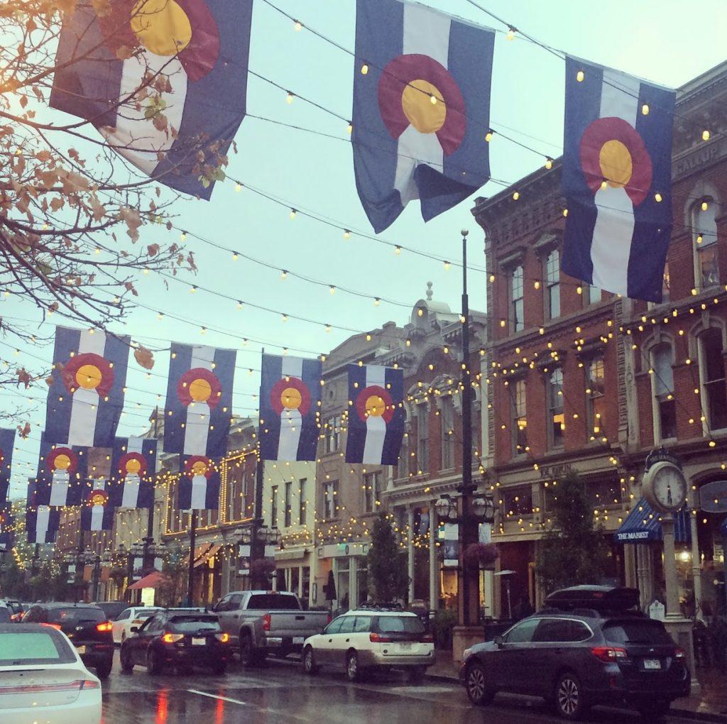 Larimer Street in Denver, CO