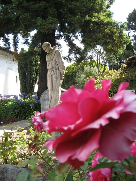 The cemetery at Mission Dolores