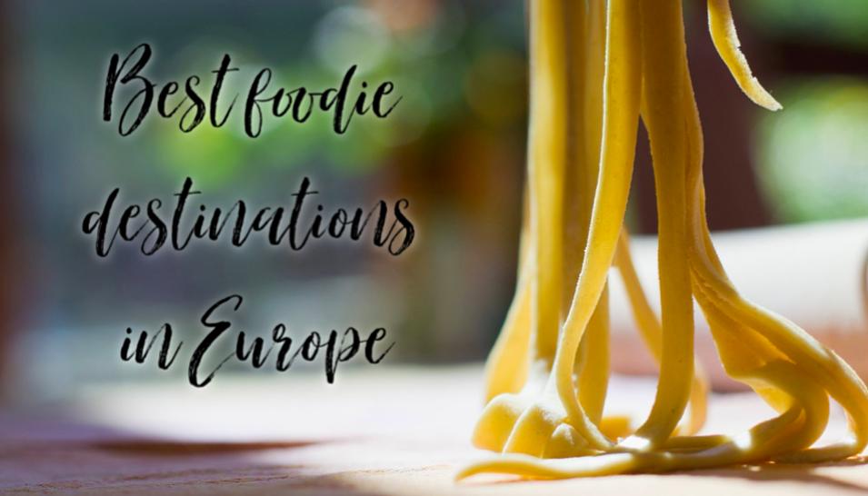 pasta being made