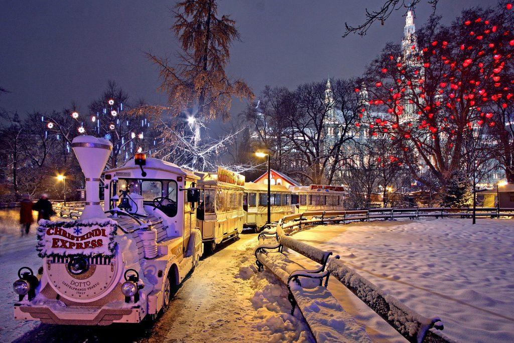 Vienna Christmas train