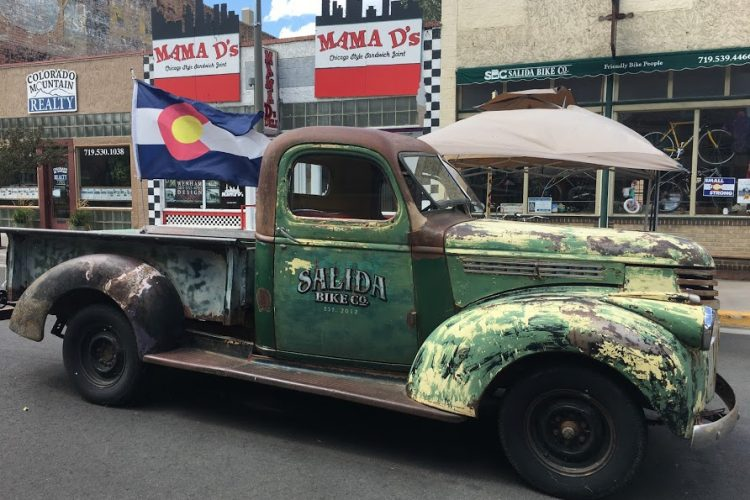 Truck in Salida, CO