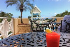 Strawberry daiquiri at Sandals
