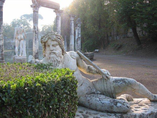 Pools in Tivoli, Italy