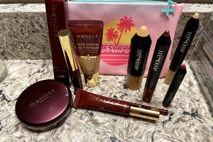 Travel makeup review