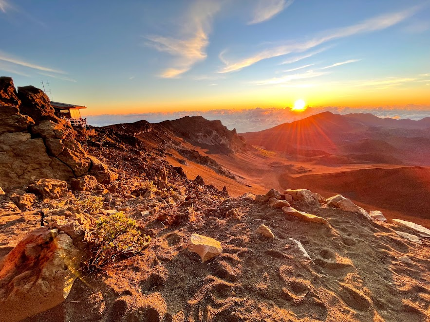 Haleakala at sunrise