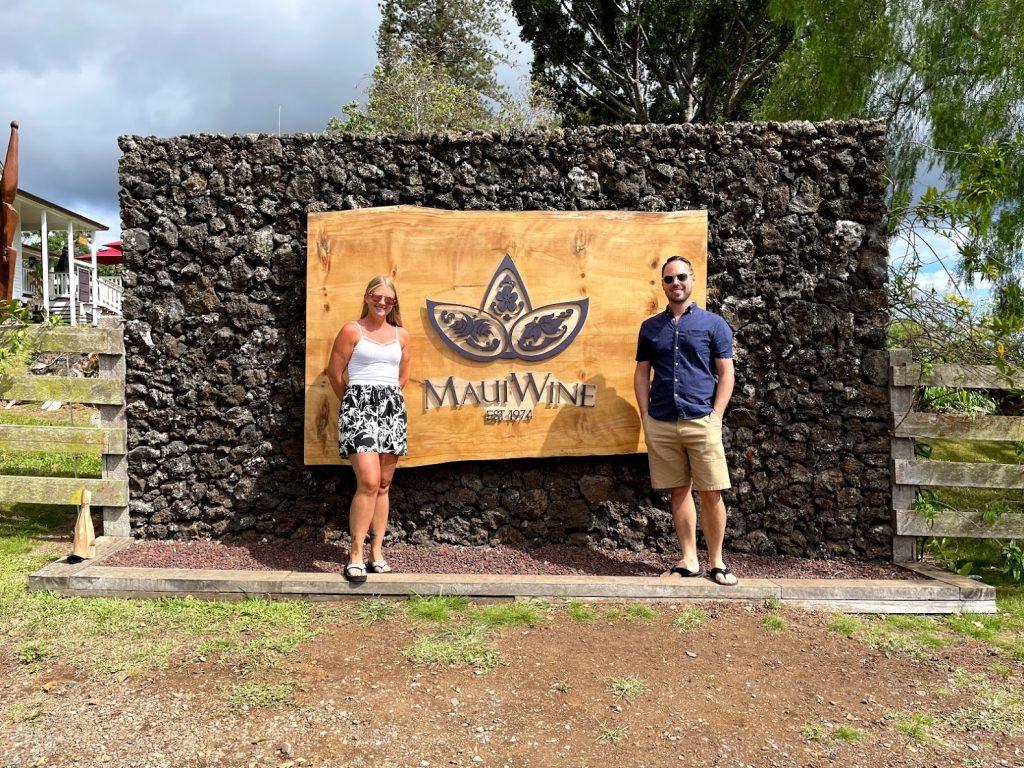 Bloggers at Maui Wine